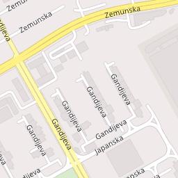 gandijeva ulica beograd mapa Tržni centar Immo Outlet Centar, Gandijeva 21, Beograd (Novi  gandijeva ulica beograd mapa