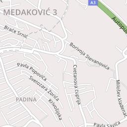 zaplanjska ulica beograd mapa Medak padina – Pavla Popovića 50kvm ID#962   Nekretnine zaplanjska ulica beograd mapa